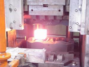 Forging in Fort Worth Texas