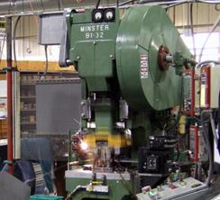 Metal Stamping in Winnipeg Manitoba